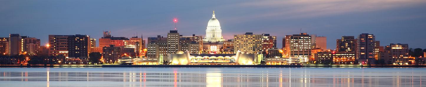 Wisconsin Capitol Skyline